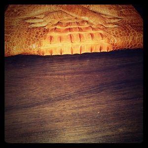 Vintage Crocodile Purse/Bag